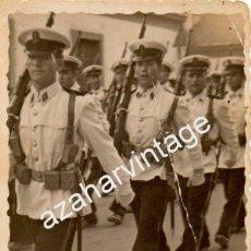 Militaria: CARTAGENA, DESFILE INFANTERIA DE MARINA,60X80MM. Lote 54283248
