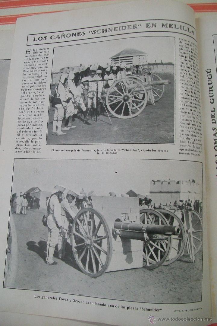 Militaria: DOBLE PÁGINA EN EL CAMPO ENEMIGO HOJAS REVISTA NUEVO MUNDO 1909 Y OTRAS FOTOS DE LA GUERRA - Foto 2 - 54424524
