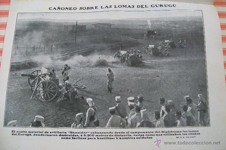Militaria: DOBLE PÁGINA EN EL CAMPO ENEMIGO HOJAS REVISTA NUEVO MUNDO 1909 Y OTRAS FOTOS DE LA GUERRA - Foto 3 - 54424524
