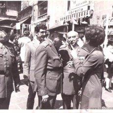 Militaria: FOTOGRAFIA ORIGINAL DEL GENERAL LUIS ALFONSO DE BAVIERA Y BORBON,AÑOS 70,OFICIAL DE LA DIVISION AZUL. Lote 54498045