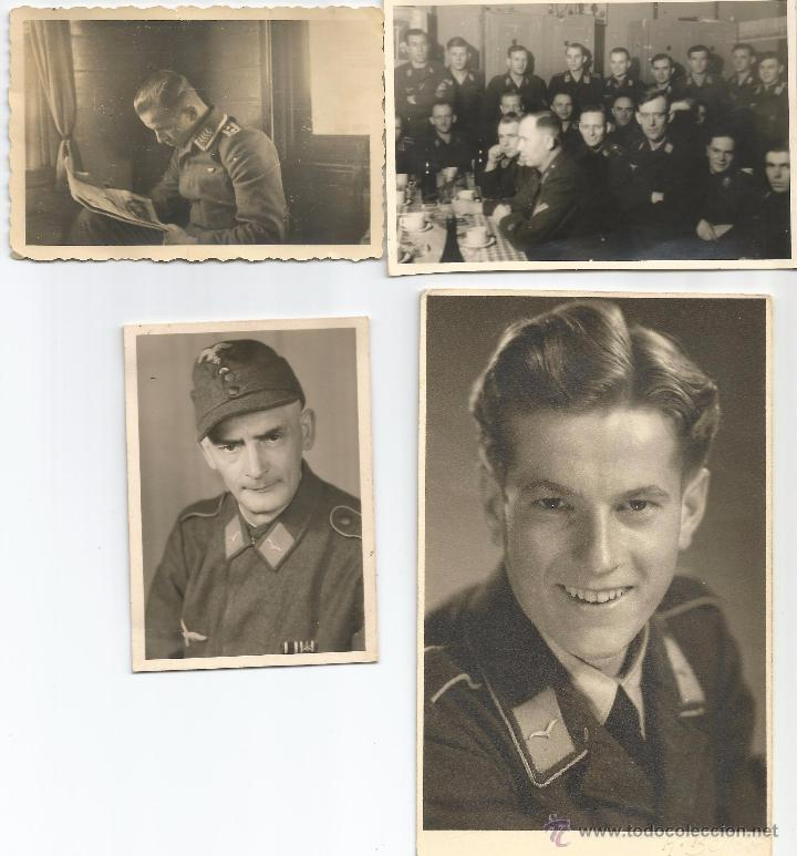 LOTE 1 FOTOS ORIGINALES LUTWAFFE (Militar - Fotografía Militar - II Guerra Mundial)