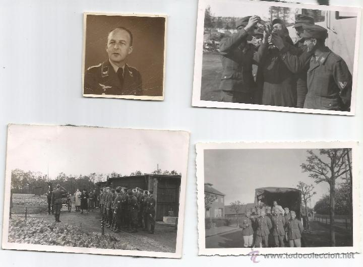 LOTE 3 FOTOS ORIGINALES LUTWAFFE (Militar - Fotografía Militar - II Guerra Mundial)