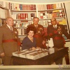 Militaria: FOTOGRAFIA ORIGINAL DEL GENERAL LUIS ALFONSO DE BAVIERA Y BORBON,AÑOS 70,OFICIAL DE LA DIVISION AZUL. Lote 54522098
