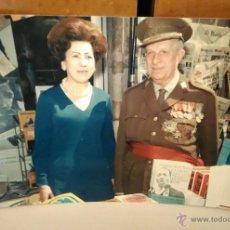 Militaria: FOTOGRAFIA ORIGINAL DEL GENERAL LUIS ALFONSO DE BAVIERA Y BORBON,AÑOS 70,OFICIAL DE LA DIVISION AZUL. Lote 54522218