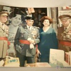 Militaria: FOTOGRAFIA ORIGINAL DEL GENERAL LUIS ALFONSO DE BAVIERA Y BORBON,AÑOS 70,OFICIAL DE LA DIVISION AZUL. Lote 54522348
