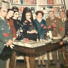 Militaria: FOTOGRAFIA ORIGINAL DEL GENERAL LUIS ALFONSO DE BAVIERA Y BORBON,AÑOS 70,OFICIAL DE LA DIVISION AZUL. Lote 54522453