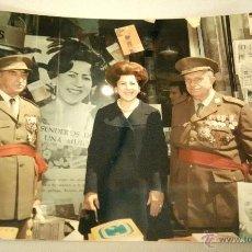 Militaria: FOTOGRAFIA ORIGINAL DEL GENERAL LUIS ALFONSO DE BAVIERA Y BORBON,AÑOS 70,OFICIAL DE LA DIVISION AZUL. Lote 54522505