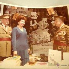 Militaria: FOTOGRAFIA ORIGINAL DEL GENERAL LUIS ALFONSO DE BAVIERA Y BORBON,AÑOS 70,OFICIAL DE LA DIVISION AZUL. Lote 54522571