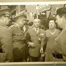 Militaria: FOTOGRAFIA ORIGINAL DEL GENERAL LUIS ALFONSO DE BAVIERA Y BORBON,AÑOS 70,OFICIAL DE LA DIVISION AZUL. Lote 54523584