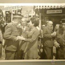 Militaria: FOTOGRAFIA ORIGINAL DEL GENERAL LUIS ALFONSO DE BAVIERA Y BORBON,AÑOS 70,OFICIAL DE LA DIVISION AZUL. Lote 54523622