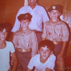 Militaria: FOTOGRAFÍA NIÑOS OJE. ORGANIZACIÓN JUVENIL ESPAÑOLA. Lote 54532159
