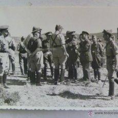 Militaria: RIOS CAPAPË DE MANIOBRAS EN ALMANSA , 1956 : LEGION , AVIACION. Lote 54549356