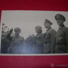 Militaria: POSTKARTE OFICIALES WEHRMACHT MANIOBRAS 05. Lote 54573557
