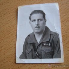 Militaria: FOTOGRAFÍA FALANGISTA TENIENTE PROVISIONAL DEL EJÉRCITO NACIONAL. GUERRA CIVIL. Lote 54574870