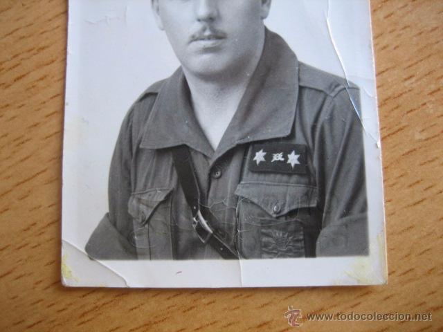 Militaria: Fotografía falangista teniente provisional del ejército nacional. Guerra Civil - Foto 3 - 54574870