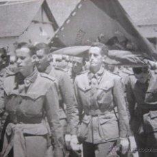 Militaria: FOTOGRAFÍA SOLDADOS CAZADORES DE MONTAÑA. DIVISIÓN DE MONTAÑA 51 JACA. Lote 54590846