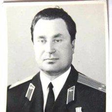 Militaria: FOTO 1 UN OFICIAL SOVIETICO CON MEDALLAS I ORDENES .URSS.. Lote 54591633