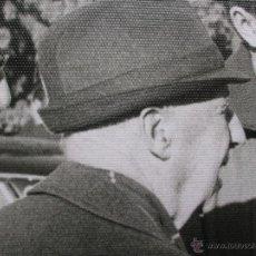 Militaria: FOTOGRAFIA DEL GENERAL FRANCO EN UNA CACERIA EN JAEN. GRAN FORMATO. FECHADA EN EL AÑO 1973.. Lote 54650747