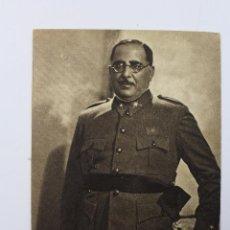 Militaria: P-4346. GENERAL ANTONIO ARANDA MATA. GUERRA CIVIL. FOTOGRAFO JALÓN ANGEL.. Lote 54716522