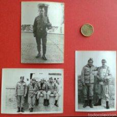 Militaria: 3 FOTOS ORIGINALES DE SOLDADOS ANTIGUAS. Lote 54718175