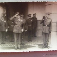 Militaria: GENERALES Y OFICIALES ESTADO MAYOR . CEUTA. Lote 54810722