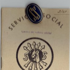 Militaria: PS5497 LOTE DE DOCUMENTOS DEL SERVICIO SOCIAL DE LA SECCIÓN FEMENINA DE FALANGE ESPAÑOLA. 1945. Lote 46644736
