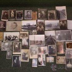 Militaria: LOTE DE 45 FOTOS .URSS .EJERCICIO SOVIETICO 1940-1975A .TANQUISTAS. Lote 54860065