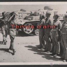 Militaria: INTERESANTE FOTOGRAFIA ORIGINAL BRITISH OFFICIAL PHOTOGRAPH AÑOS 40. Lote 55028880