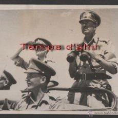 Militaria: INTERESANTE FOTOGRAFIA ORIGINAL BRITISH OFFICIAL PHOTOGRAPH AÑOS 40. Lote 55028901