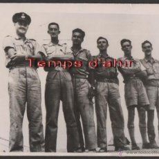 Militaria: INTERESANTE FOTOGRAFIA ORIGINAL BRITISH OFFICIAL PHOTOGRAPH AÑOS 40. Lote 55028916