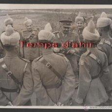 Militaria: INTERESANTE FOTOGRAFIA ORIGINAL BRITISH OFFICIAL PHOTOGRAPH AÑOS 40. Lote 55028935