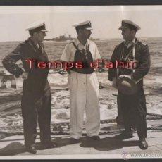 Militaria: INTERESANTE FOTOGRAFIA ORIGINAL BRITISH OFFICIAL PHOTOGRAPH AÑOS 40. Lote 55028951