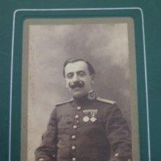 Militaria: FOTO MILITAR CONDECORADO. AÑOS 20-30. ÉCIJA. SEVILLA. Lote 55098178
