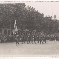 Militaria: FOTO ORIGINAL 11 X 8 CTMS. DESFILE MILITAR PASEO DE GRACIA. BARCELONA. CIRCA 1920. Lote 55146977