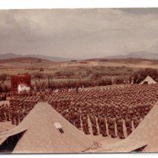 Militaria: FOTOGRAFÍA DE MISA EN UN CAMPAMENTO 10 X 7CM. Lote 55339435