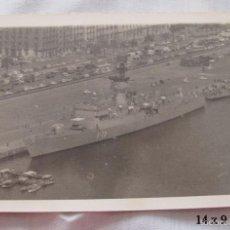 Militaria: FOTO ARMADA ESPAÑOLA FRAGATA CATALUÑA AÑOS 70. Lote 55417033