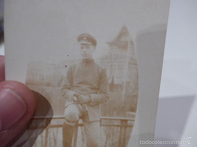 Militaria: Antigua fotografia de aleman de I guerra mundial, original - Foto 2 - 55575780