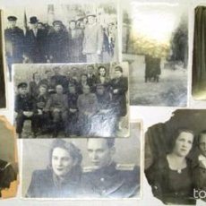 Militaria: LOTE 24 FOTOS MILITARES.UNA FAMILIA SOVIETICA .URSS. Lote 55832261