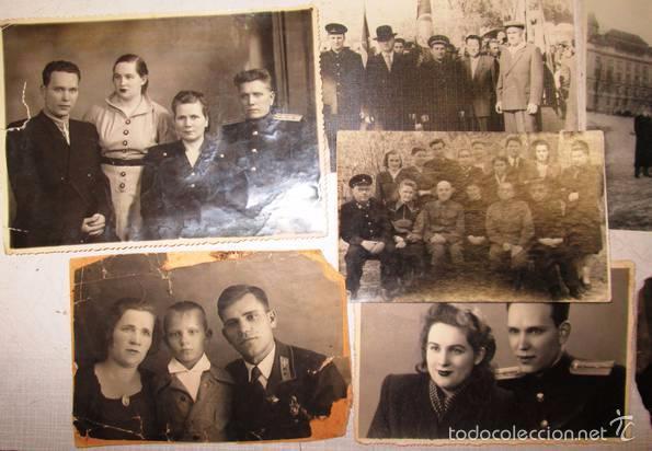 Militaria: Lote 24 fotos militares.Una familia sovietica .URSS - Foto 2 - 55832261