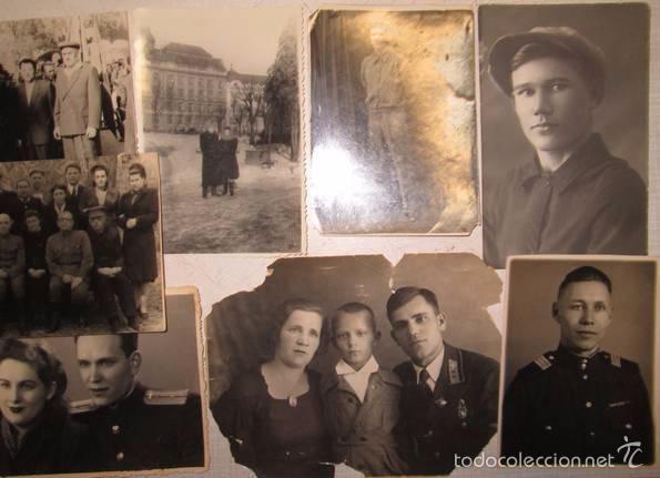 Militaria: Lote 24 fotos militares.Una familia sovietica .URSS - Foto 3 - 55832261