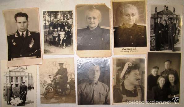 Militaria: Lote 24 fotos militares.Una familia sovietica .URSS - Foto 6 - 55832261