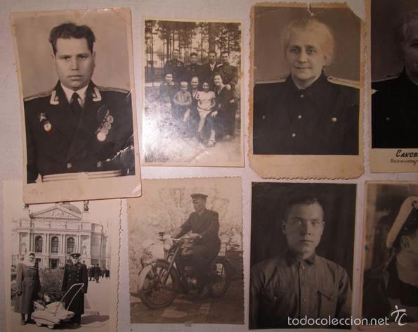 Militaria: Lote 24 fotos militares.Una familia sovietica .URSS - Foto 7 - 55832261