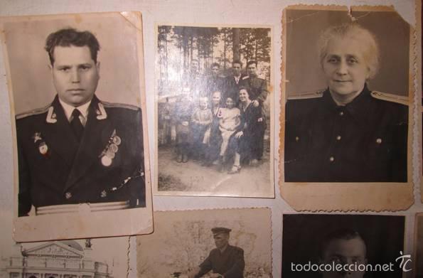 Militaria: Lote 24 fotos militares.Una familia sovietica .URSS - Foto 8 - 55832261