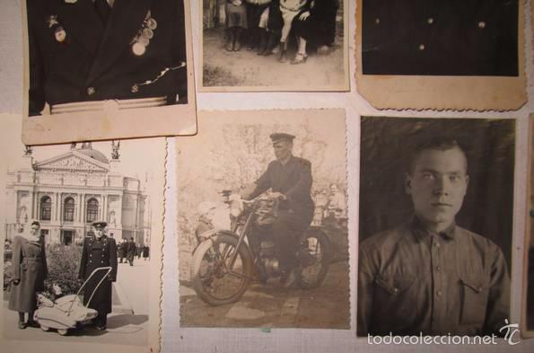 Militaria: Lote 24 fotos militares.Una familia sovietica .URSS - Foto 9 - 55832261