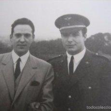 Militaria: FOTOGRAFÍA ALFÉREZ AVIACIÓN. BARCELONA 1946. Lote 55905006