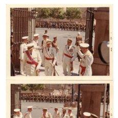 Militaria: 3 FOTOGRAFÍAS, NOMBRAMIENTO AGUSTÍN MUÑOZ GRANDES, OFICIALES CONDECORADOS-12,5X9CM DIVISIÓN AZUL. Lote 89452235