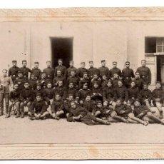 Militaria: FOTOGRAFÍA DEL REGIMIENTO DE INFANTERÍA Nº 38 LEÓN - MEDIDAS 20 X 15 CM. Lote 56007020