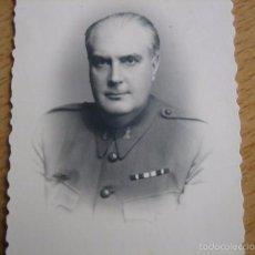 Militaria: FOTOGRAFÍA OFICIAL INGENIEROS DEL EJÉRCITO ESPAÑOL. MADRID 1944. Lote 56022559