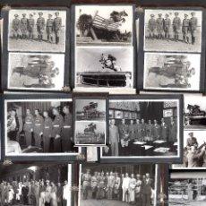 Militaria: ÁLBUM 35 FOTOS GRAN TAMAÑO EQUITACIÓN MILITAR, PERTENECIÓ A CARLOS KILPATRICK O´DONELL. CABALLERÍA. Lote 56052480