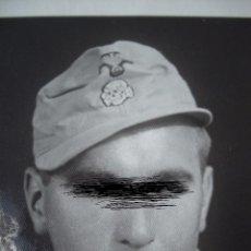 Militaria: SOLDADO ALEMÁN DE LAS SS CON UNIFORME TROPICAL. NO COPIA. EXCELENTE FOTOGRAFIA. Lote 56100587